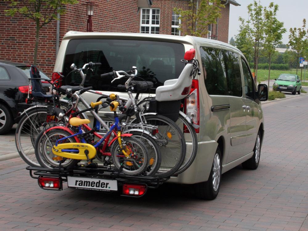 vw scene news fahrradtr ger mft multi cargo 2 family. Black Bedroom Furniture Sets. Home Design Ideas